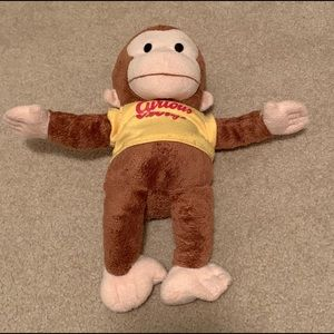Other - Curious George 🐵 Monkey Plush